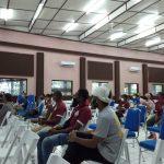 OB Agen School dan Papua Hope Language Institut Students Melakukan Perkenalan